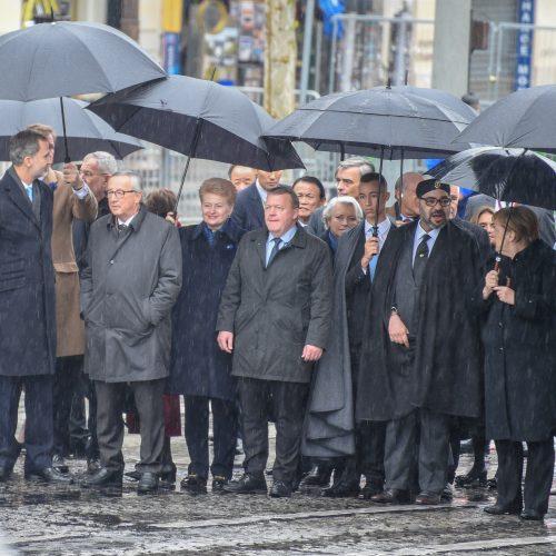 Prezidentė dalyvauja renginiuose Paryžiuje  © R. Dačkaus / Prezidentūros nuotr.