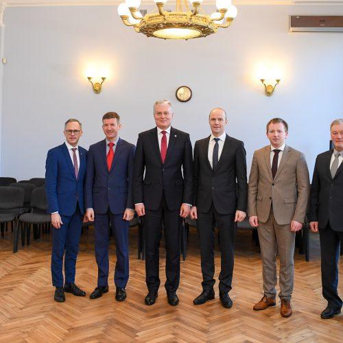 Prezidentas susitiko su Marijampolės regiono merais  © R. Dačkaus / Prezidentūros nuotr.