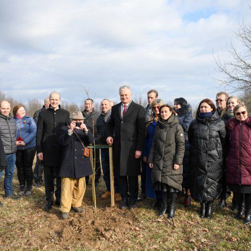G. Nausėda aplankė J. Basanavičiaus gimtinę  © R. Dačkaus / Prezidentūros nuotr.