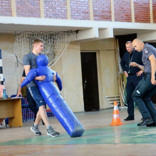 Policijos mokyklos kursantų atranka  © Policijos mokyklos nuotr.
