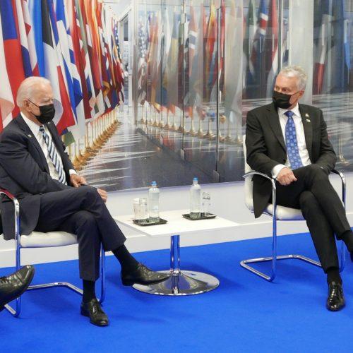 Baltijos šalių vadovų susitikimas su J. Bidenu  © R. Dačkaus / Prezidentūros nuotr.