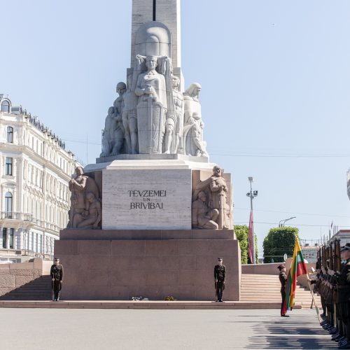 I. Šimonytės vizitas Latvijoje  © Vyriausybės kanceliarijos nuotr.