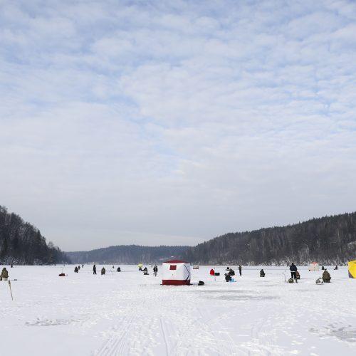 Žalieji ežerai traukia vilniečius ir žiemą  © M. Morkevičiaus / ELTOS nuotr.