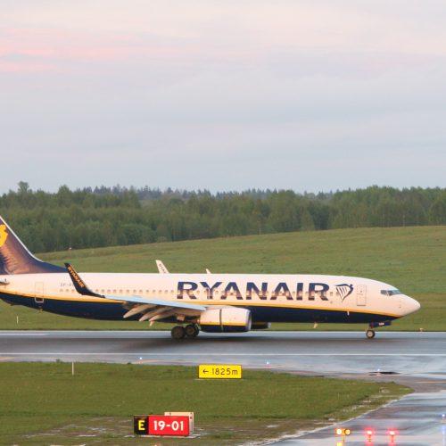 """Priverstinis """"Ryanair"""" lėktuvo nutupdymas  © Scanpix nuotr."""