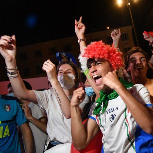Euro 2020: Italija-Šveicarija  3:0  © Scanpix nuotr.