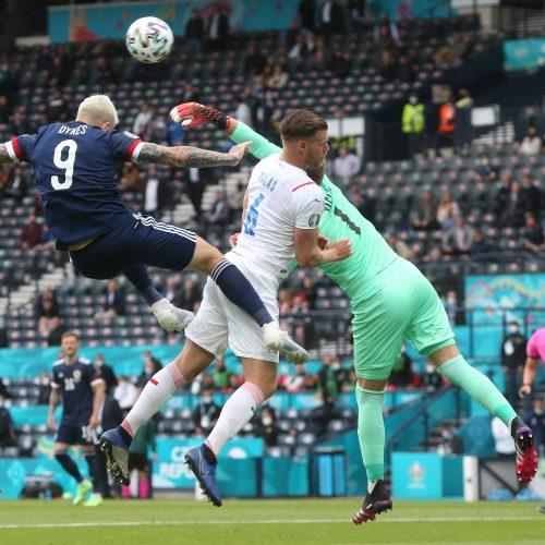Europos čempionato D grupė: Škotija-Čekija 0:2  © Scanpix nuotr.
