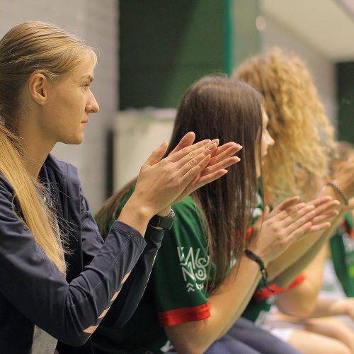 """Moterų lyga: """"Aistės"""" – Talino universitetas  © Evaldo Šemioto nuotr."""