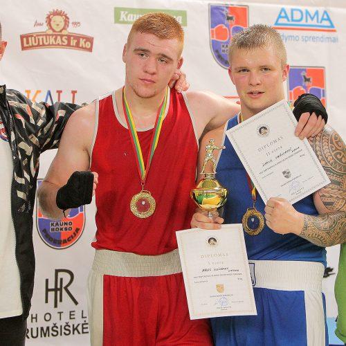 A. Šociko bokso turnyro finalai  © Evaldo Šemioto nuotr.