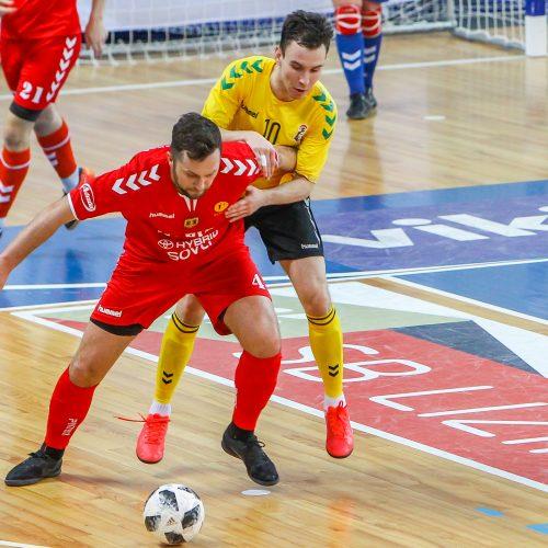 """Futsalo A lyga: """"Žalgiris"""" – """"Šiauliai"""" 14:2"""