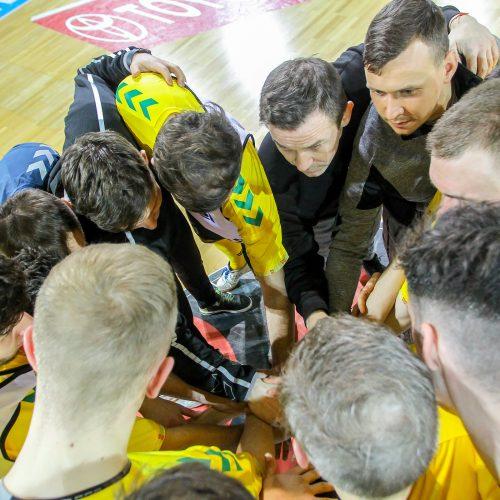 """Futsalo taurės pusfinalis: """"Žalgiris"""" – """"Turbotransfers"""" 5:1"""