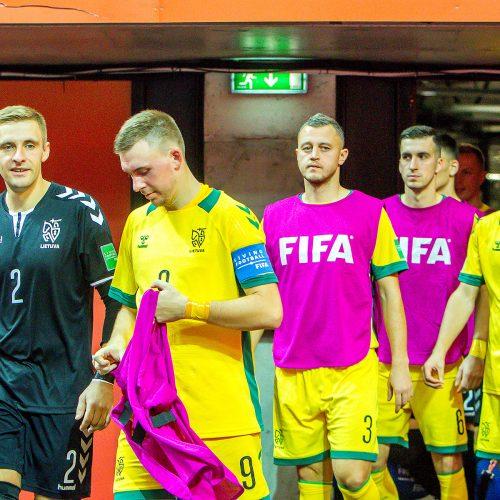 Lietuva – Kazachstanas 0:3   Futsalo PČ  © Evaldo Šemioto nuotr.