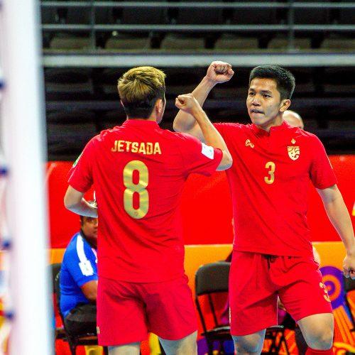 Saliamono salos – Tailandas 4:9 | Futsalo PČ  © Evaldo Šemioto nuotr.