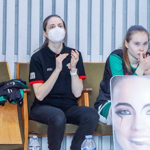 """Moterų lyga: """"Aistės-LSMU"""" – """"Šiauliai"""" 56:60  © Evaldo Šemioto nuotr."""