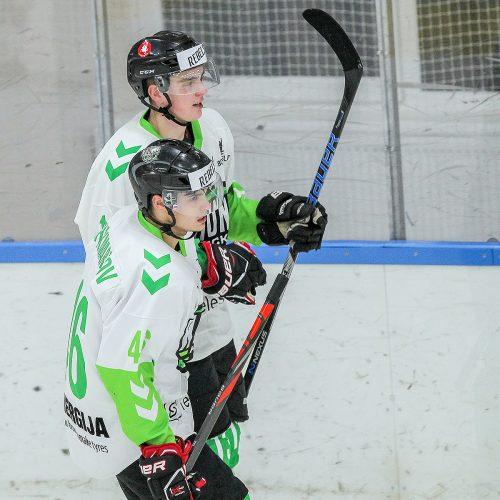 """L. ritulys. """"Baltų ainiai-Klaipėda"""" – """"Kaunas Hockey"""" 4:3  © Evaldo Šemioto nuotr."""