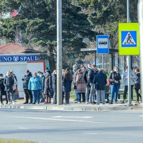 Karantinas Kaune. 11-oji diena  © Evaldo Šemioto nuotr.