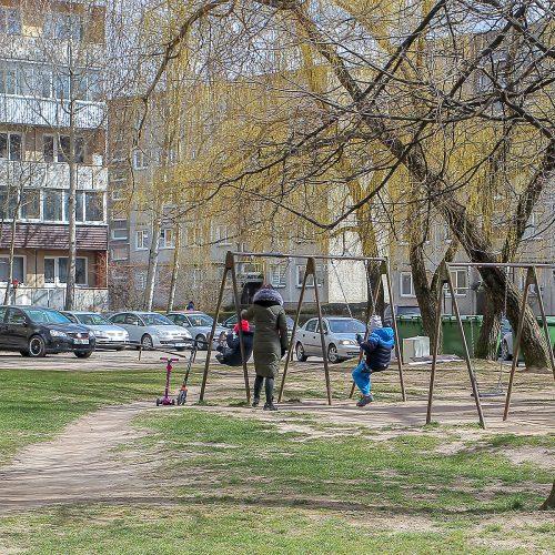 Karantinas Kaune. 16-oji diena  © Evaldo Šemioto nuotr.