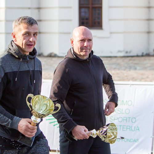 """Ralio """"Kauno ruduo 2020"""" finišas ir apdovanojimai  © Evaldo Šemioto nuotr."""