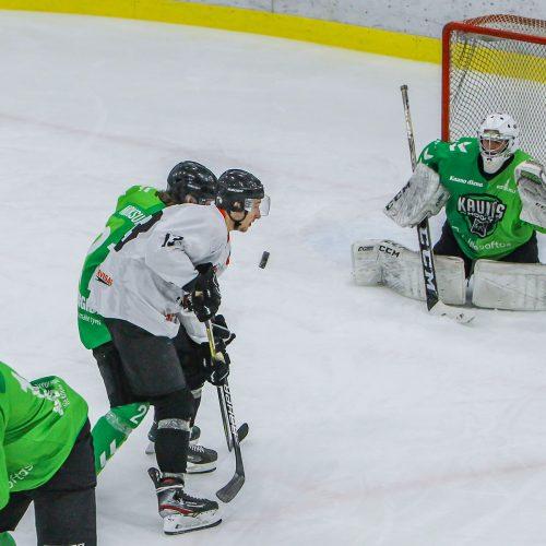 """LLRČ 1/2 finalo: """"Kaunas Hockey"""" – """"Baltų ainiai"""" 4:3  © Evaldo Šemioto nuotr."""