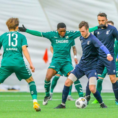 """Futbolo kontrolinės: """"K. Žalgiris"""" – """"Jonava"""" 2:1  © Evaldo Šemioto nuotr."""