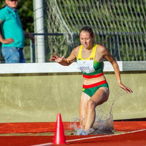 Lengvoji atletika. Lietuvos čempionatas. 2 diena  © Evaldo Šemioto nuotr.