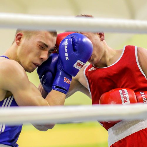 Lietuvos bokso čempionatas 2020. Pusfinaliai  © Evaldo Šemioto nuotr.