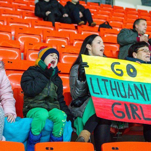"L. ritulys: Lietuva – Jelgavos ""L&L Hope"" 3:0  © Evaldo Šemioto nuotr."