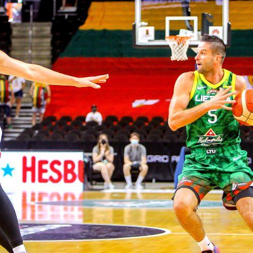 Krepšinio kontrolinės: Lietuva – Rusija 78:61  © Evaldo Šemioto nuotr.