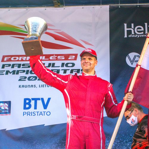 F2 pasaulio čempionato ir LMČ apdovanojimai  © Evaldo Šemioto nuotr.