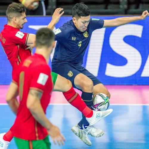 Tailandas – Portugalija 1:4   Futsalo PČ  © Evaldo Šemioto nuotr.