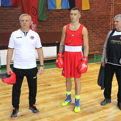 R. Tamulio bokso turnyro ketvirtfinaliai  © Evaldo Šemioto nuotr.
