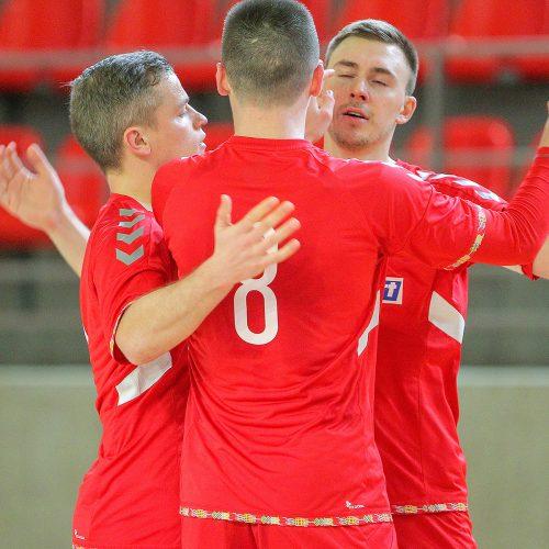 """Futsalas: """"Vytis"""" – """"Šiauliai"""" 4:0"""