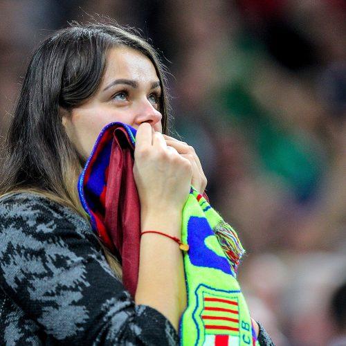 """Eurolyga: """"Žalgiris"""" – """"Barcelona"""" 86:93  © Evaldo Šemioto nuotr."""