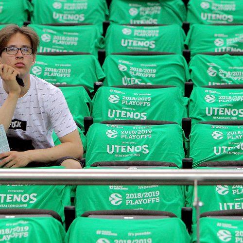 """Eurolygos ketvirtfinalis: """"Žalgiris"""" – """"Fenerbahce"""" 57:66"""