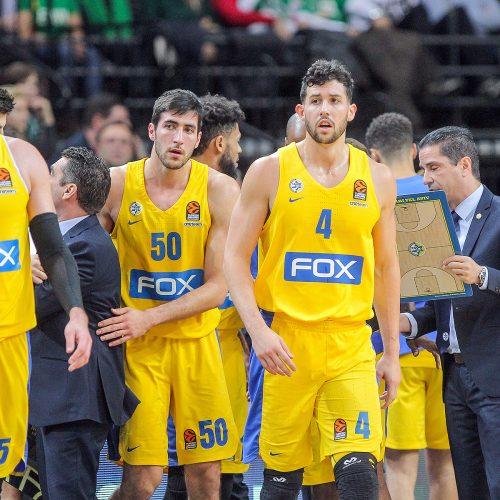 "Eurolyga: ""Žalgiris"" – ""Maccabi"" 73:68  © Evaldo Šemioto nuotr."