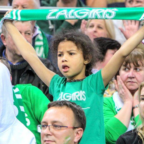 """Eurolyga: """"Žalgiris"""" – """"Maccabi"""" 73:68"""