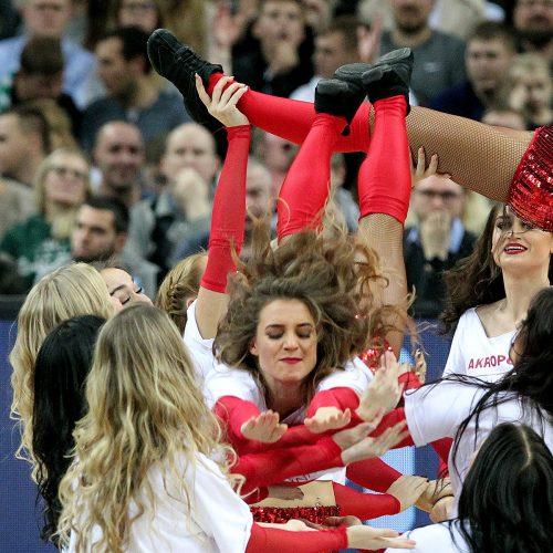 """Eurolyga: """"Žalgiris"""" – """"Barcelona"""" 85:88  © Evaldo Šemioto nuotr."""