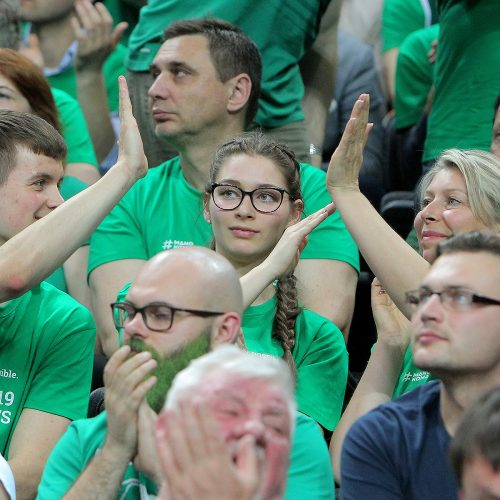 """Eurolygos ketvirtfinalis: """"Žalgiris"""" – """"Fenerbahce"""" 82:99  © Evaldo Šemioto nuotr."""