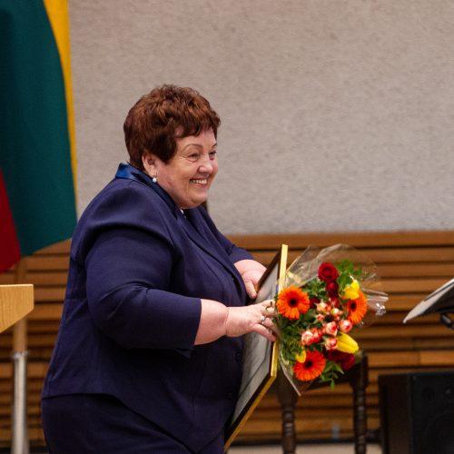 Įteiktos Vyriausybės kultūros ir meno premijos   © Pauliaus Peleckio/Fotobanko nuotr.