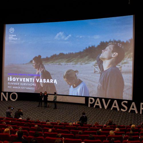 """M. Kavtaradzės filmo """"Išgyventi vasarą"""" premjera  © P. Peleckio/Fotobanko nuotr."""
