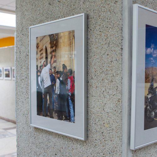 """Ekspedicijos """"Nuo Baltijos iki Bengalijos"""" nuotraukų paroda  © P. Peleckio/Fotobanko nuotr."""