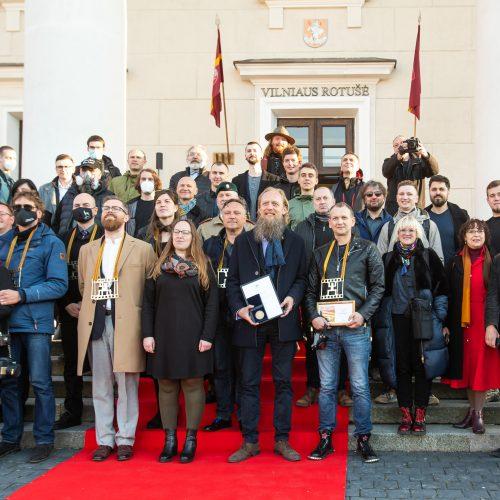 """Konkurso """"Lietuvos spaudos fotografija 2020"""" nugalėtojų apdovanojimų ceremonija"""
