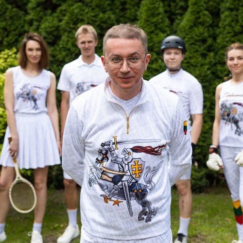 A. Pogrebnojaus kurtos aprangos kolekcijos pristatymas  © I. Gelūno / Fotobanko nuotr.