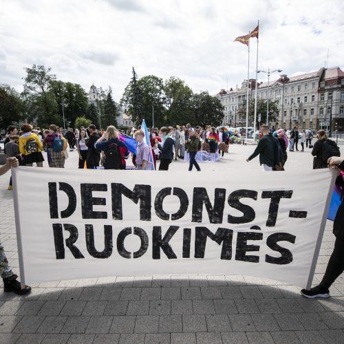 Vilniuje – LGBT solidarumo eitynės
