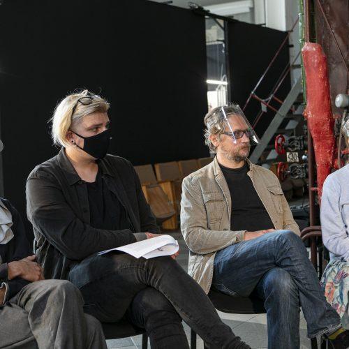 """Nacionalinių kino apdovanojimų """"Sidabrinė Gervė"""" spaudos konferencija"""