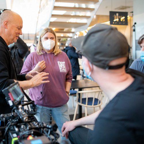 Vilniuje filmuojami švedų serialai