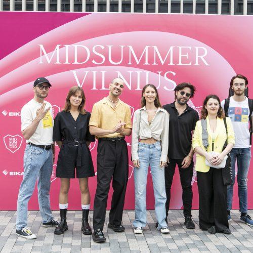 "Festivalio ""Midsummer Vilnius"" pristatymas"