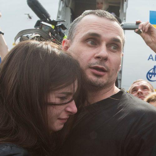 Ukraina ir Rusija apsikeitė kaliniais