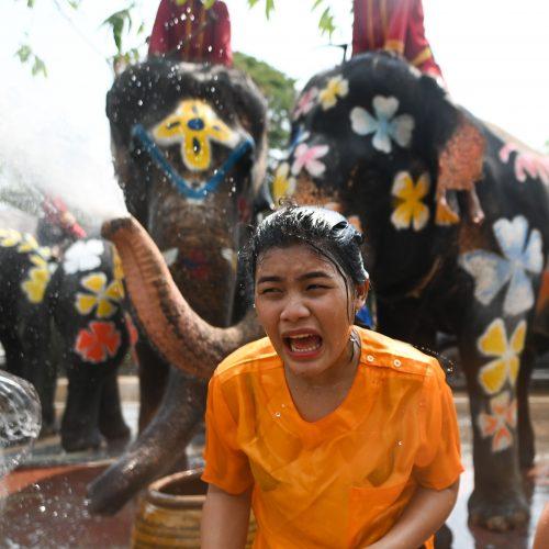 Naujieji metai Tailande  © Scanpix nuotr.