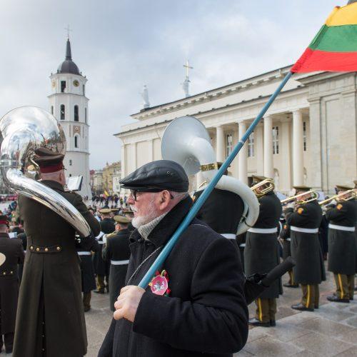 Prie Vilniaus arkikatedros – jungtinis Baltijos šalių orkestras