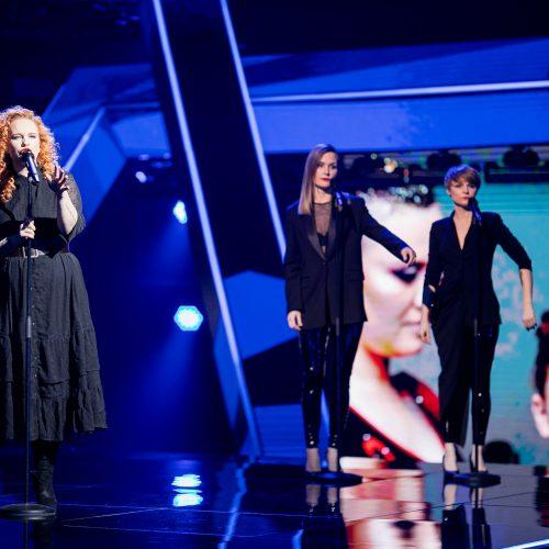 """Pirmoji nacionalinės atrankos į """"Euroviziją"""" laida  © D. Umbraso / LRT nuotr."""